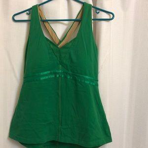 Vintage lululemon tank top in green size  8/10